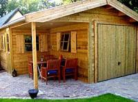 Houten Garage Kopen : Houten garage op maat bekijk het complete assortiment online