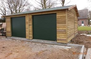Houten Garage Kopen : Houten garage. fabulous houten garage kortgene with houten garage