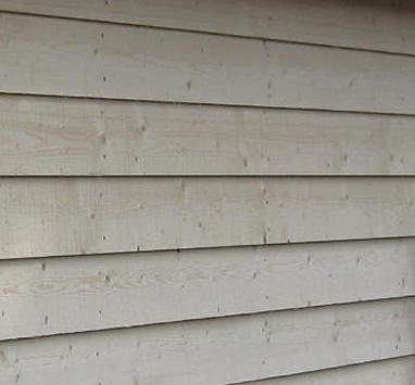 Onbehandeld hout beschermen buiten